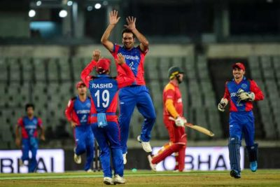 Afghanistan's winning streak comes to an end