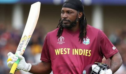 Chris Gayle's T20 hundred