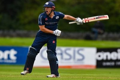 Scotland beat Netherlands by 58 runs
