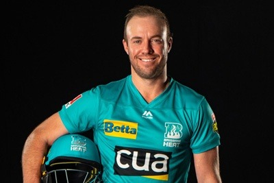 AB de Villiers signs for Brisbane heat for upcoming BBL 1