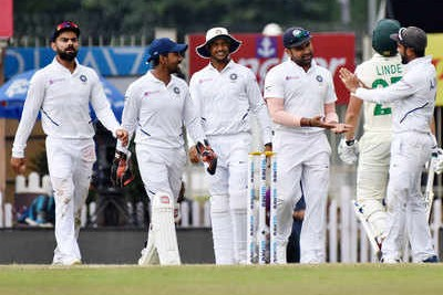 India vs South Africa, 3rd Test