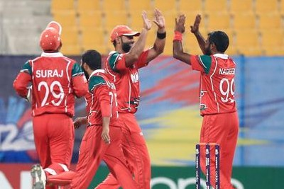 Oman Beat Hong Kong in T20 World Cup Qualifier