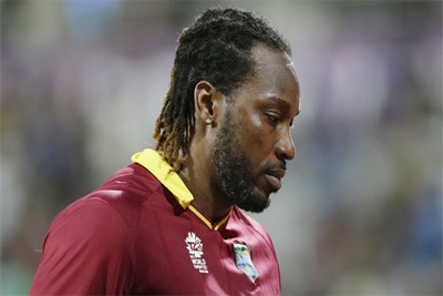 Chris Gayle takes a break from Cricket 1