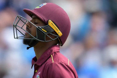 Nicholas Pooran suspended for ball-tampering