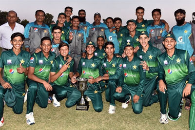 Pakistan U16 defeated Bangladesh U16