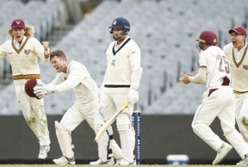 Queensland vs Victoria, Sheffield Shield 12th Match 2