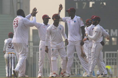 West Indies vs Afghanistan, day 1 of Test match