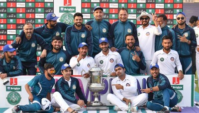 Central Punjab wins Quaid-e-Azam Trophy Final 4