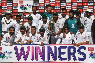 Pakistan defeats Sri Lanka in 2nd Test 2