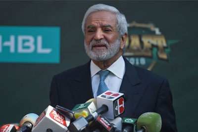 Ehsan Mani assures that Pakistan is a safe country