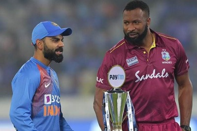 India vs West Indies 3rd T20I Live Cricket Score 1