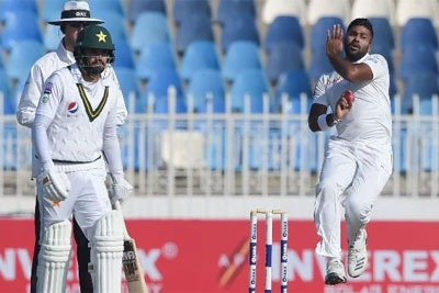 Pakistan vs Sri Lanka 2nd Test in Karachi, Live Cricket Score