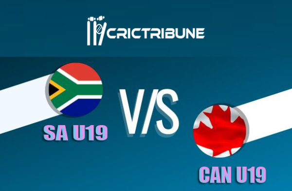 SA U19 vs CAN U19 Live Score 7th Match of U19 WC between South Africa U19 vs Canada U19 on 22 January 2020 Live Score & Live Streaming
