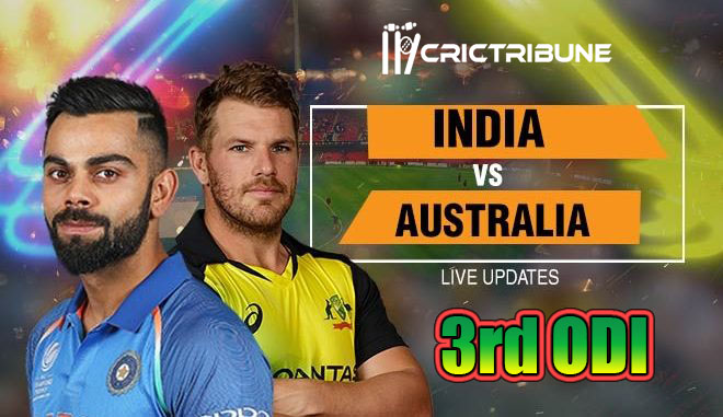 IND vs AUS Live Score 3rd Match between India vs Australia on 19 January 20 Live Score & Live Streaming