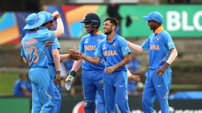 India advances to Semi-Final of the U19 World Cup after defeating Australia 9