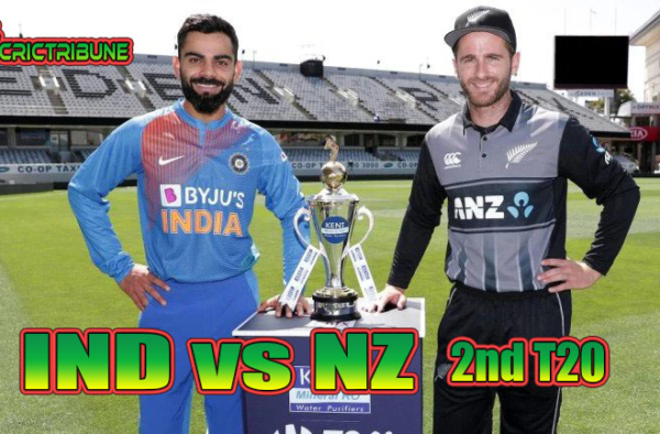 IND vs NZ Live Score 2nd Match between India vs New ZealandLive on 26 January 20 Live Score & Live Streaming