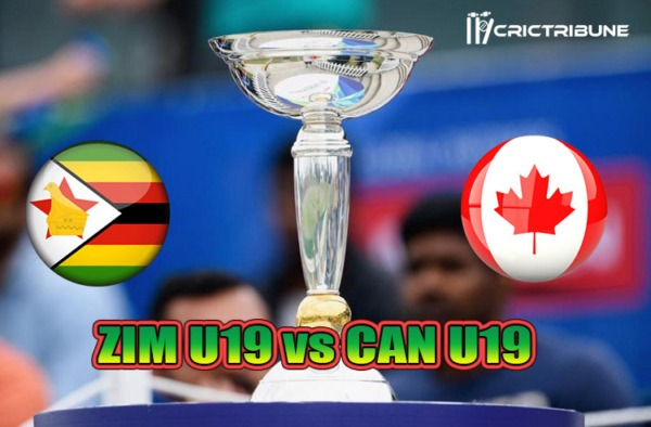 ZIM U19 vs CAN U19 Live Score Plate Quarter-Final 3 of U19 WC between India U19 vs Australia U19 on 28 January 2020 Live Score & Live Streaming