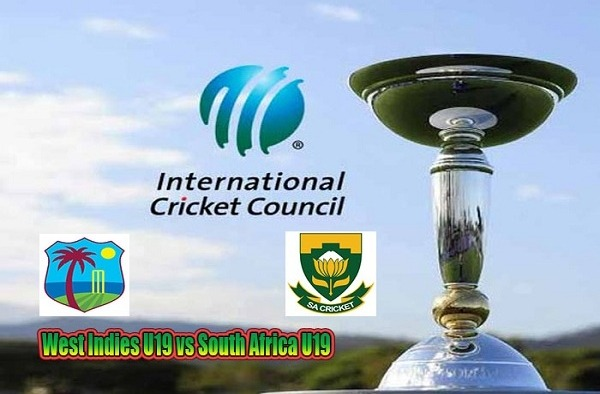 WI U19 vs SA U19 Live Score 5th Place Playoff Semi-Final 1 of U19 WC between West Indies U19 vs South Africa U19 on 1 February 2020 Live Score & Live Streaming