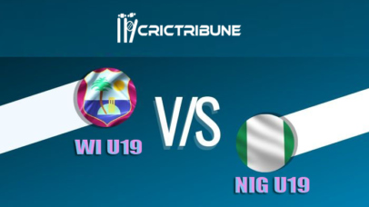WI U19 vs NIG U19 Live Score 17th Match of U19 WC between West Indies U19 vs Nigeria U19 on 23 January 2020 Live Score & Live Streaming