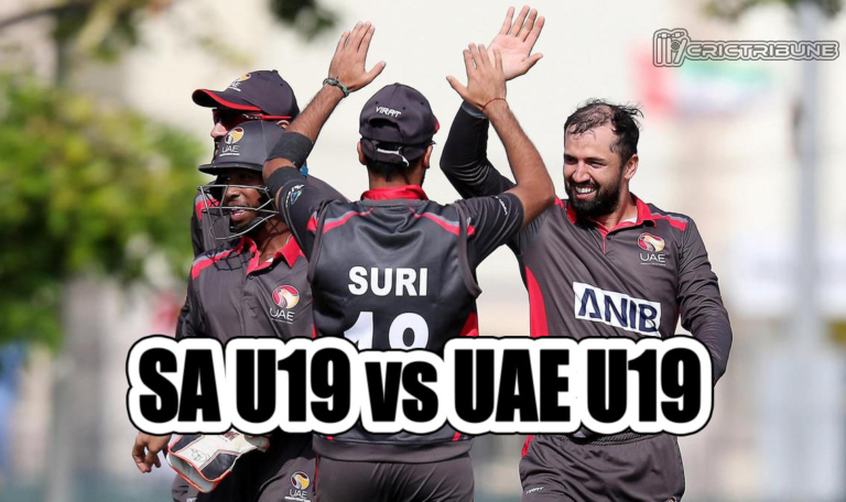 SA U19 vs UAE U19 Live Score 23rd Match of U19 WC between South Africa U19 vs United Arab Emirates U19 on 25 January 2020 Live Score & Live Streaming