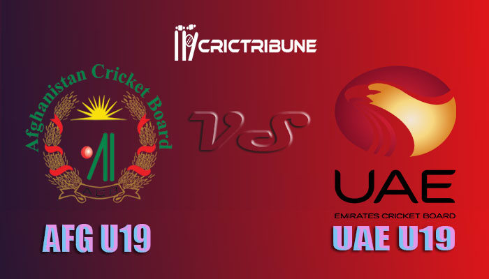 AF U19 vs UAE U19 Live Score 13th Match of U19 WC between Afghanistan U19 vs United Arab Emirates U19 on 22 January 2020 Live Score & Live Streaming
