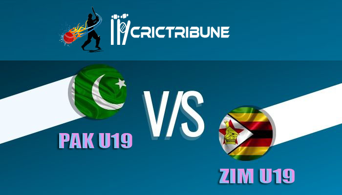 PAK U19 vs ZIM U19 Live Score, 14th Match, PK-U19 vs ZIM-U19 Live 1