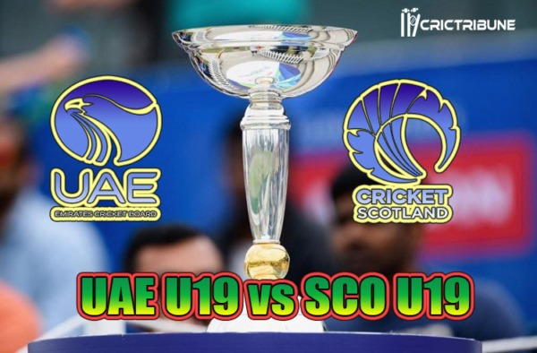 UAE U19 vs SCO U19 Live Score Plate Quarter-Final 4 of U19 WC between United Arab Emirates U19 vs Scotland U19 on 28 January 2020 Live Score & Live Streaming