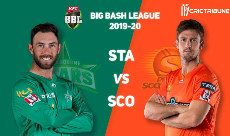 STA vs SCO Live Score 41st Match of BBL 2020 between Melbourne Stars Vs Perth Scorchers on 18 January 20 Live Score & Live Streaming