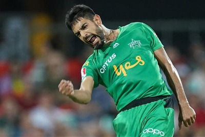 Haris Rauf takes a hat-trick in BBL 1
