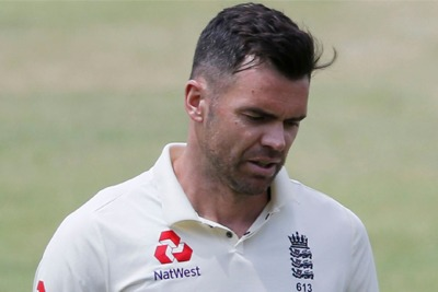 James Anderson ruled out of South Africa series 3