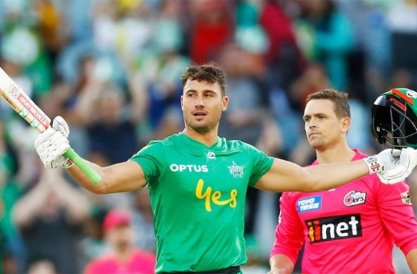 Marcus Stoinis stars with the highest individual score in BBL 2