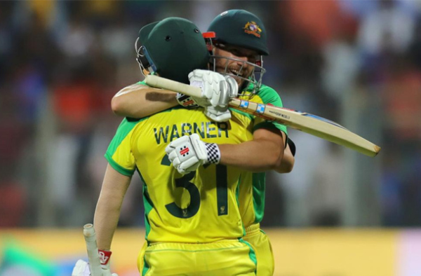 Australia dominates India with a 10-wicket victory in 1st ODI 3