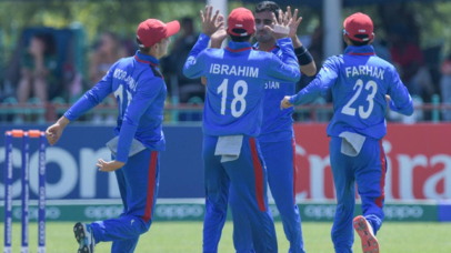 Afghanistan's Ghafari stars with 6 wickets in the opening match of U-19 World Cup 2