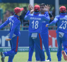 Afghanistan's Ghafari stars with 6 wickets in the opening match of U-19 World Cup 10