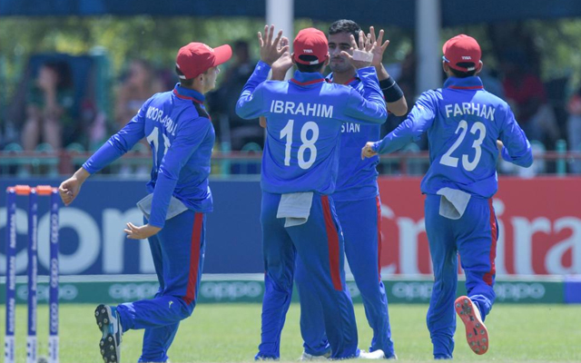 Afghanistan's Ghafari stars with 6 wickets in the opening match of U-19 World Cup 1