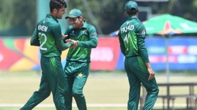 Pakistan qualifies for U-19 World Cup Quarter Finals 1