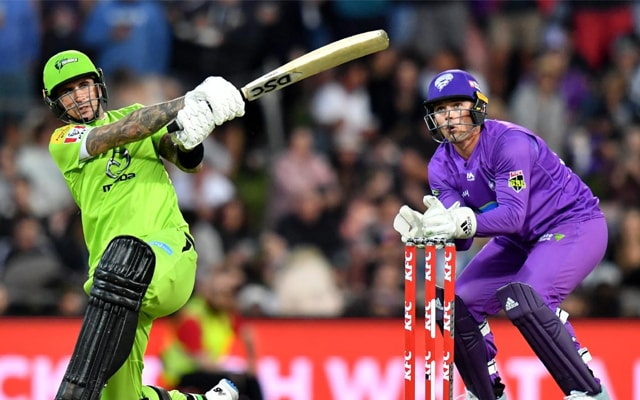 Jonathan Cook's 4-wicket haul knocks Hobart Hurricanes out from BBL Finals 1