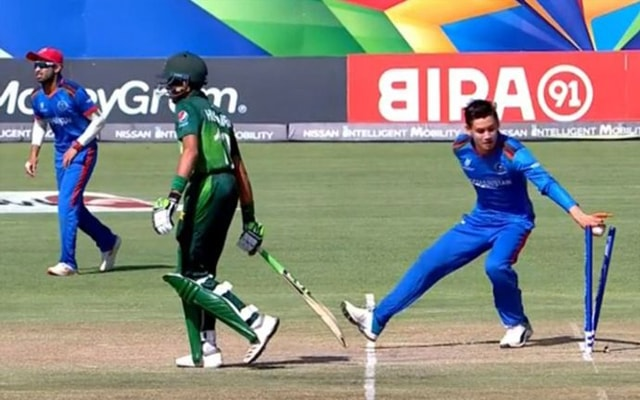 Afghanistan stoops to Mankading at the U19 World Cup 1