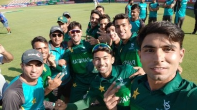 Pakistan defeats Afghanistan to qualify for the Semi-Final of U19 World Cup 1