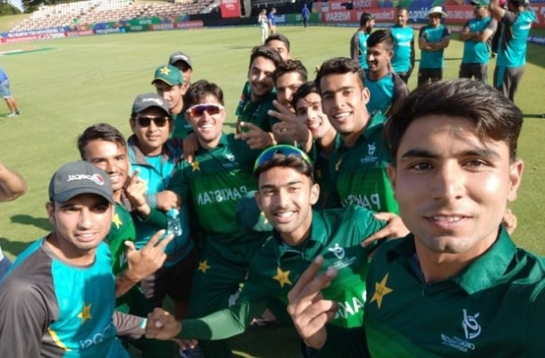 Pakistan defeats Afghanistan to qualify for the Semi-Final of U19 World Cup 2