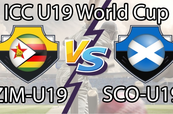 ZIM U19 vs SCO U19 Live Score 22nd Match of U19 WC between Zimbabwe U19 vs Scotland U19 on 25 January 2020 Live Score & Live Streaming