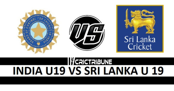 IND U19 vs SL U19 Live Score, India U19 vs Sri Lanka U19, 7th Match Live 1