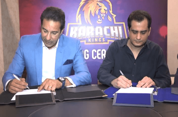 Q Mobile joins Karachi kings as a platinum sponsor