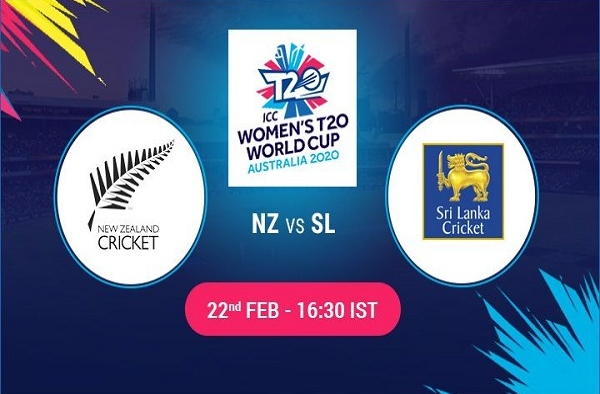 NZ W vs SL W Live Score 3rd Match between New Zealand Women vs Sri Lanka Women Live on 22 February 20 Live Score & Live Streaming