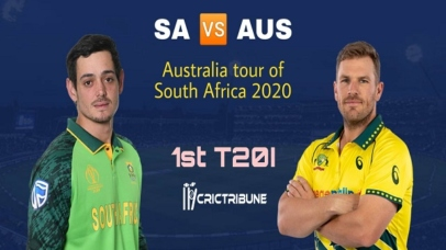 SA vs AUS Live Score 1st T20 Match between South Africa vs Australia Live on 21 February 20 Live Score & Live Streaming