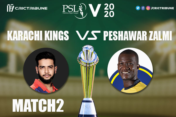 KK vs PZ Live Score 1st Match between Karachi Kings vs Peshawar Zalmi Live on 21 February 2020 Live Score & Live Streaming