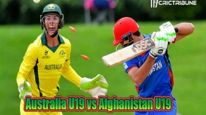 AUS U19 vs AFG U19 Live Score 5th Place Playoff Semi-Final 2 of U19 WC between Australia U19 vs Afghanistan U19 on 2 February 2020 Live Score & Live Streaming
