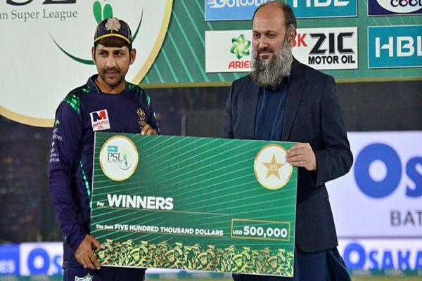 PSL 2019: Quetta Gladiators sealed victory over Peshawar Zalmi; receiving prize money