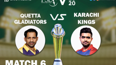 KAR vs QUE Live Score 6th Match between hi Kings vs Quetta Gladiators Live on 23 February 2020 Live Score & Live Streaming