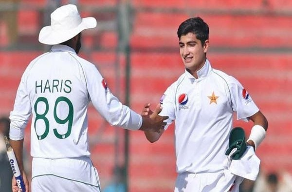 Pak vs Ban: Naseem Shah becomes the youngest bowler to achieve test hat-trick